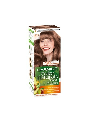Garnier Garnier Color Naturals Saç Boyası 6.25 Kestane Kahve Renkli